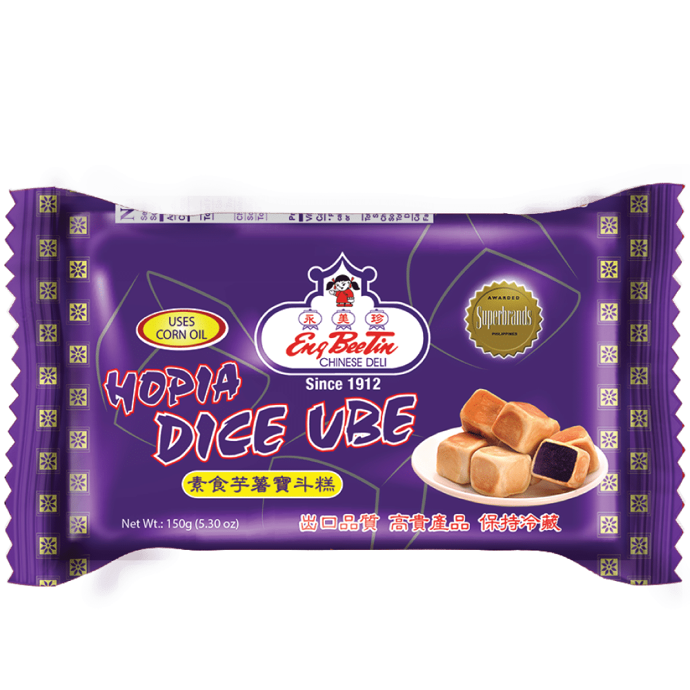 Eng Bee Tin Ube Dice Hopia 150g Frozen Products Shop Vss
